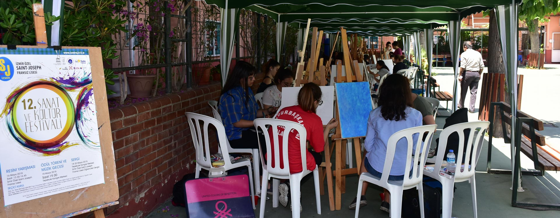 12. Sanat ve Kültür Festivali kapsamında Resim Yarışması gerçekleştirdik.