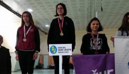 Okul Sporları İzmir Genç Kızlar Eskrim Turnuvası sonuçlarına göre öğrencilerimiz, Türkiye Şampiyonasına katılmaya hak kazanmışlardır.