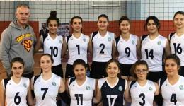 Kız Voleybol Takımımız, Yarı Final B Grubu'nda karşılaşmalara devam etme hakkı kazanmıştır.
