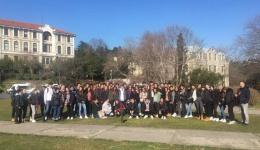 11. sınıf öğrencilerimizin İstanbul Üniversiteleri Gezisi